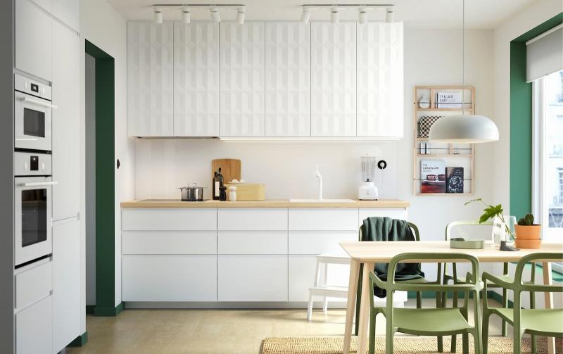 Кухонный гарнитур в скандинавском стиле 6