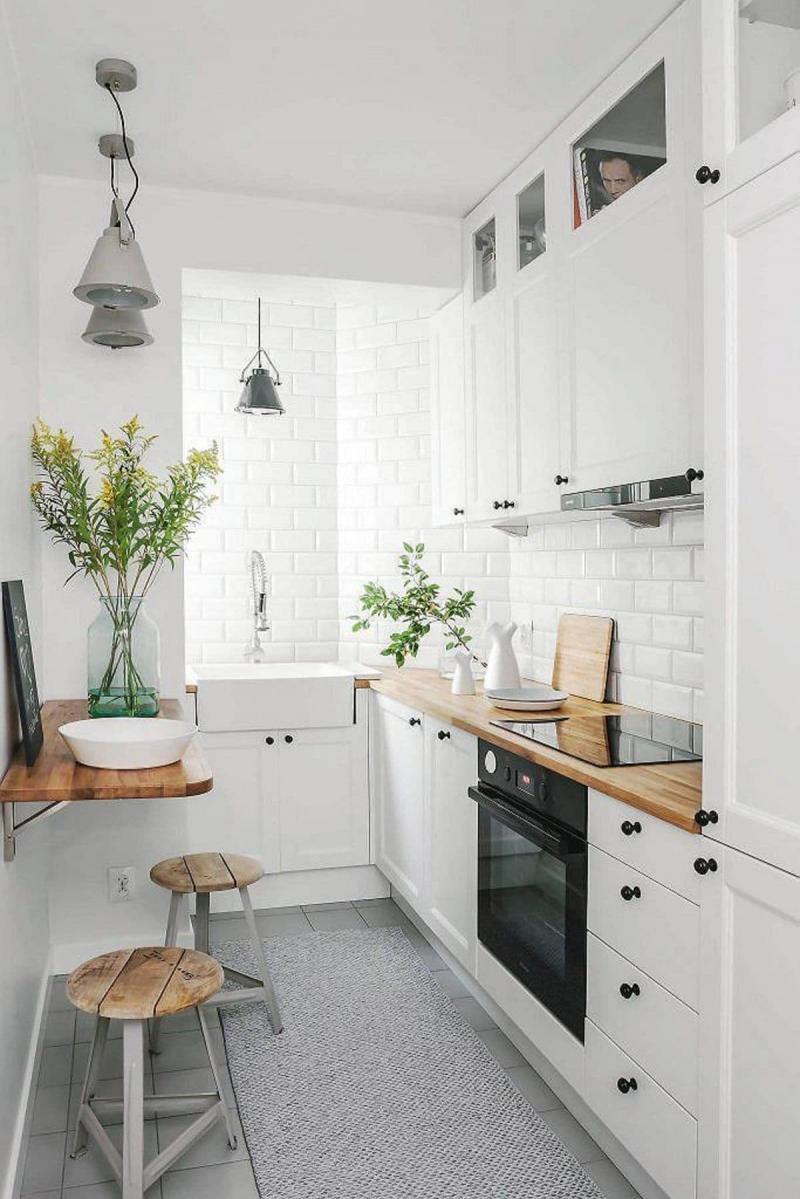 Планировка кухни в скадинавском стиле 5