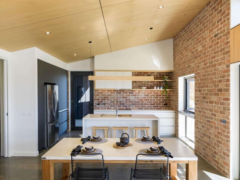 Потолок на кухне в скандинавском стиле 2