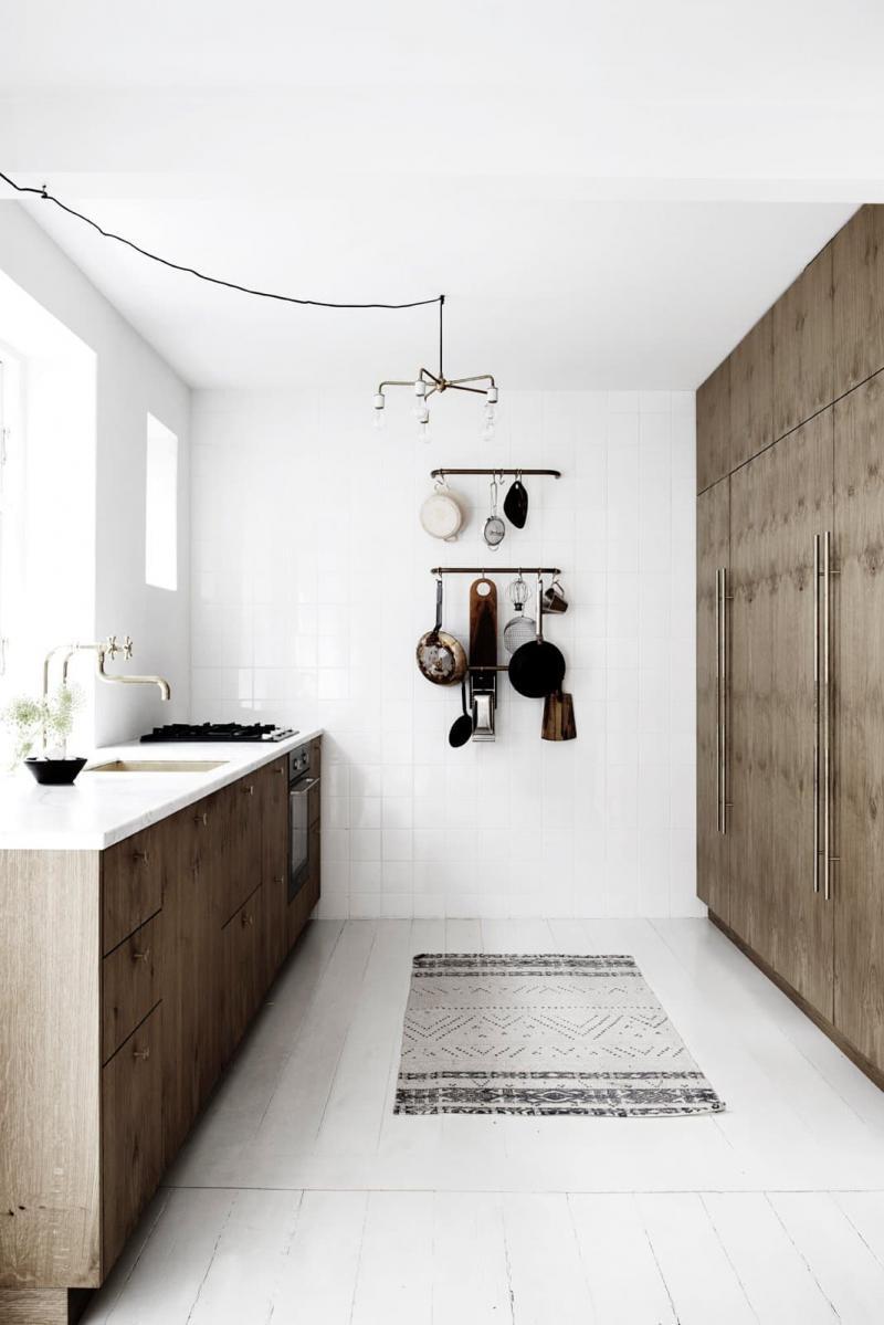 Потолок на кухне в скандинавском стиле 3