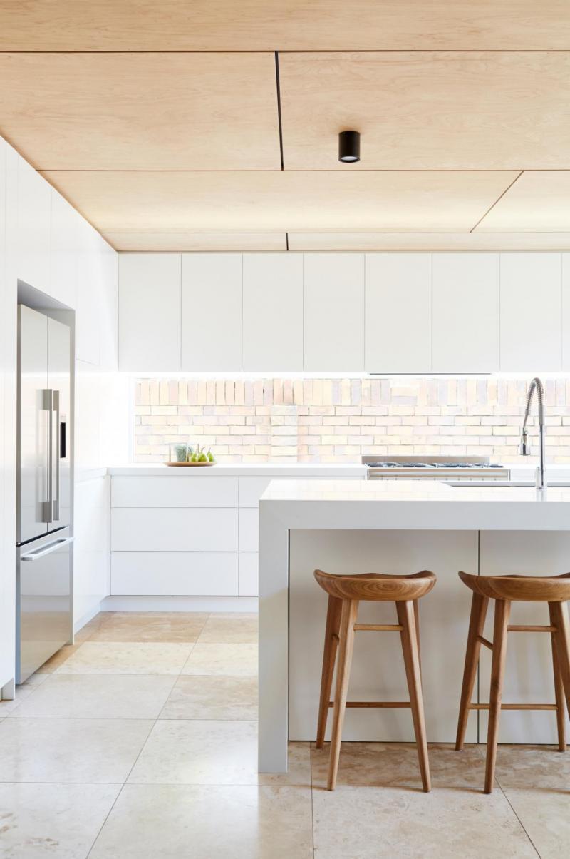 Потолок на кухне в скандинавском стиле 4