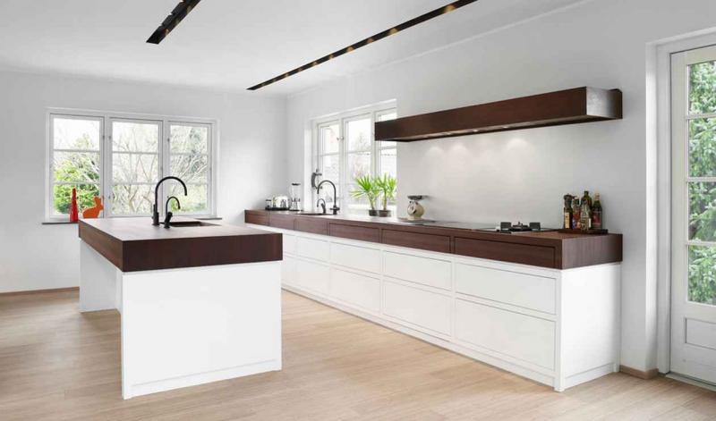 Столешница на кухне в скандинавском стиле 1