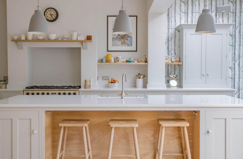 Столешница на кухне в скандинавском стиле 2