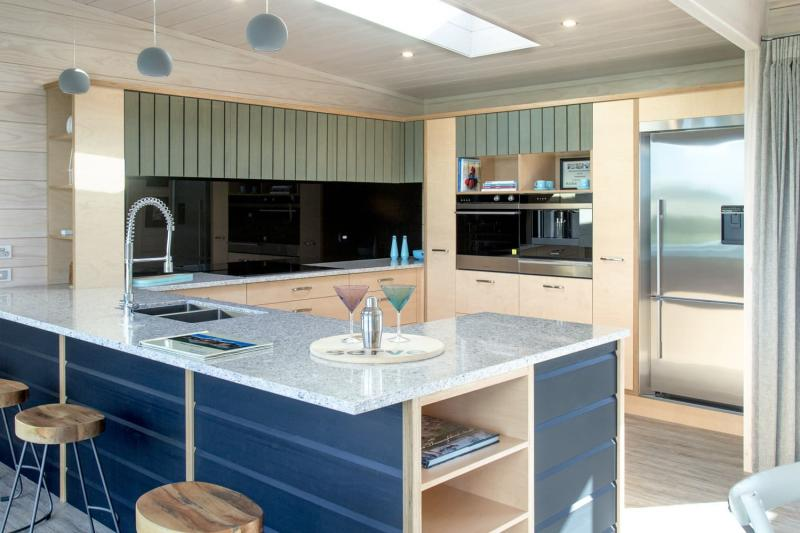 Столешница на кухне в скандинавском стиле 4