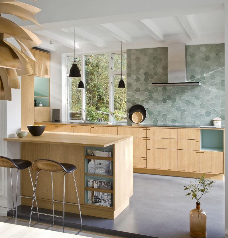 Вытяжка на кухне в скандинавском стиле 4