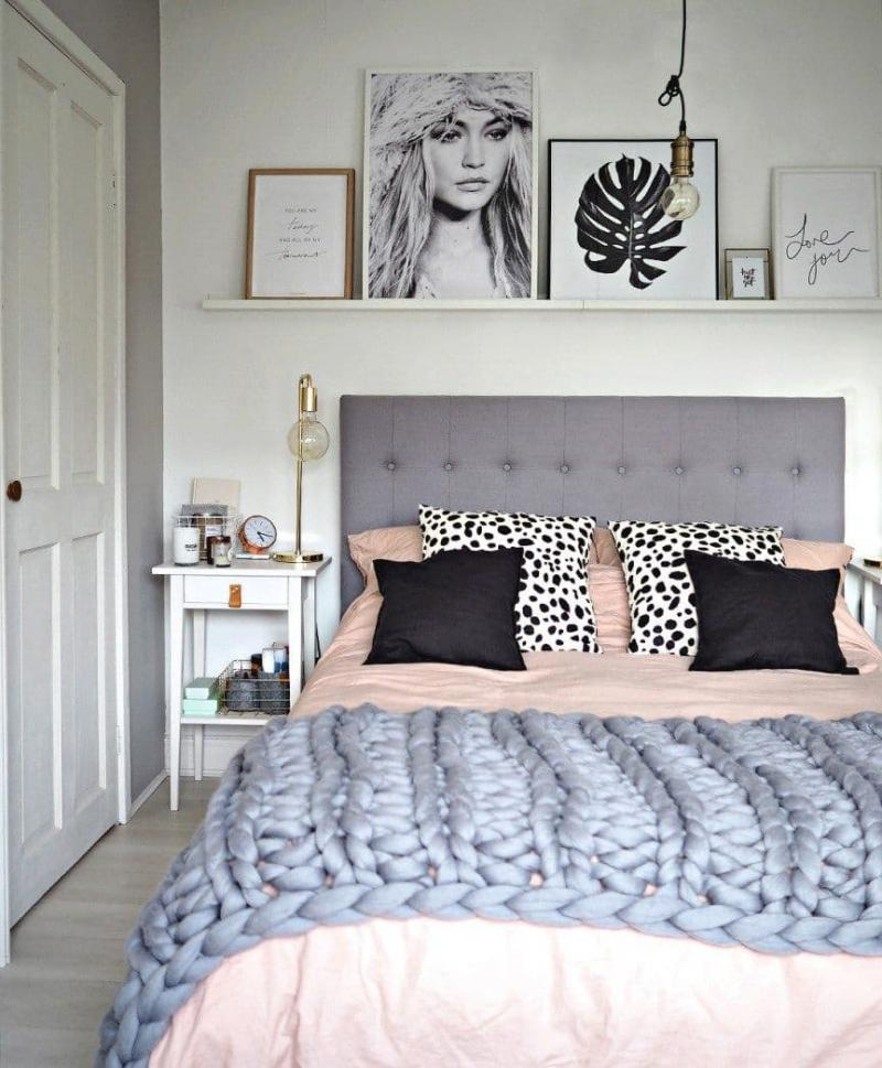 Аксессуары для маленькой спальни 4