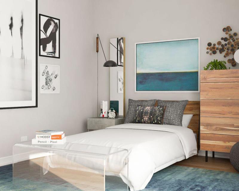 Аксессуары для маленькой спальни 5