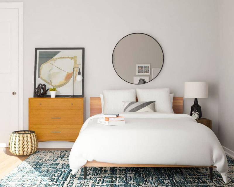 Комод в маленькой спальне 1