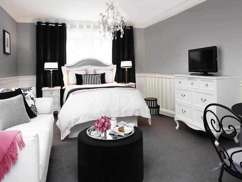 Маленькая спальня в квартире студии 3