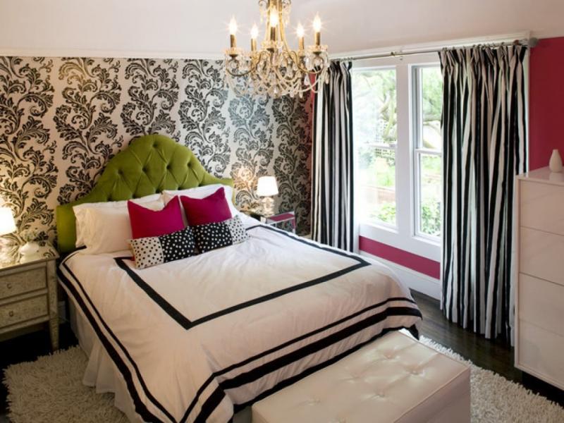 Облицовка стен в маленькой спальне 5