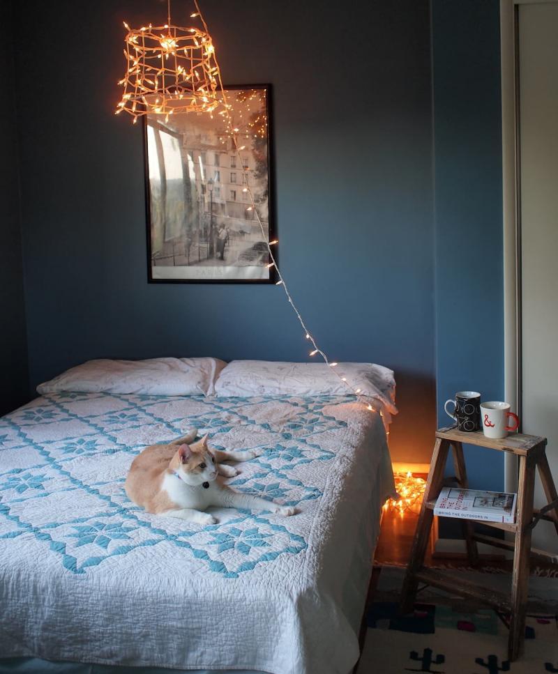 Освещение в маленькой спальне 3