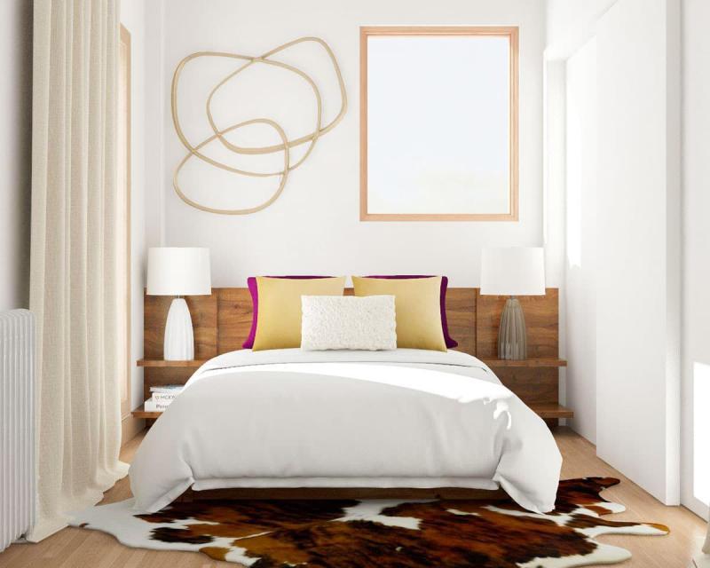 Пол в маленькой спальне 3