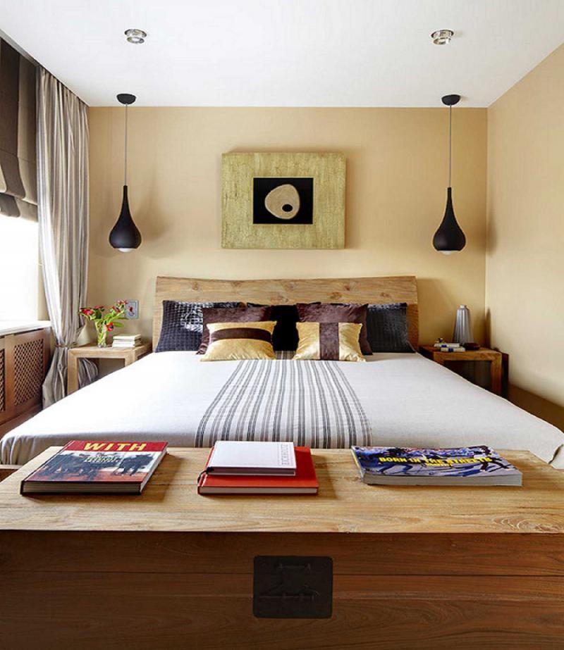 Потолок в маленькой спальне 3