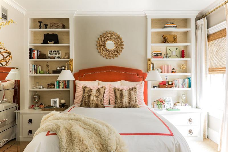 Система хранения в маленькой спальне 5