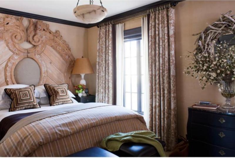 Стиль для маленькой спальни античный 1