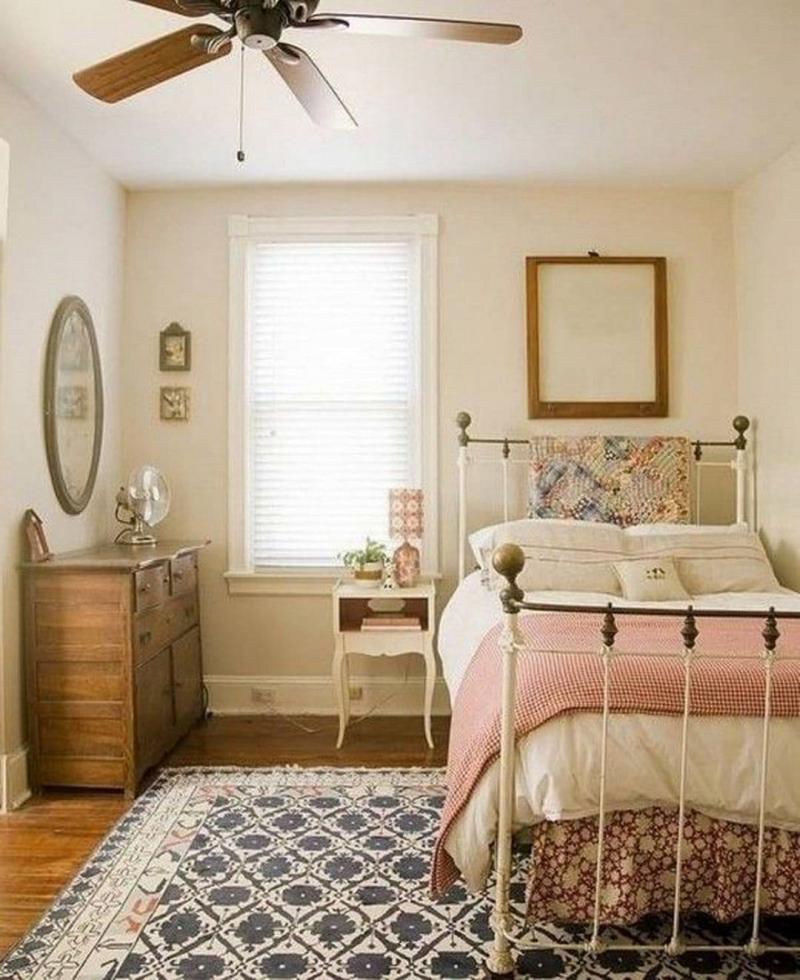 Стиль для маленькой спальни прованский 1