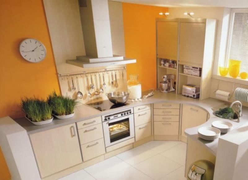 Кухонный гарнитур для кухни 9 кв.м 2
