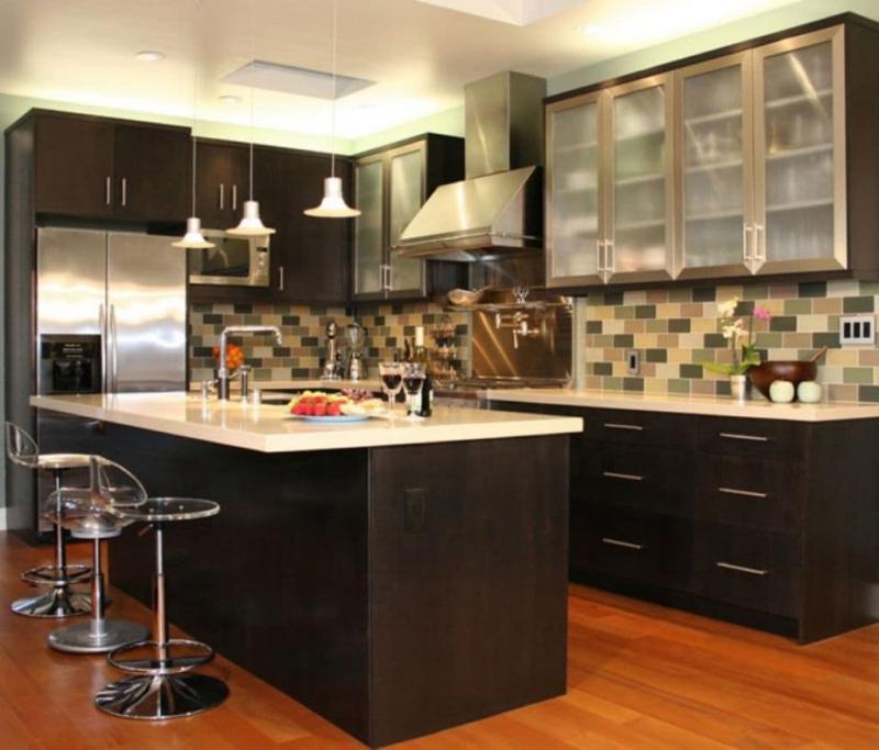 Кухонный гарнитур для кухни 9 кв.м 3