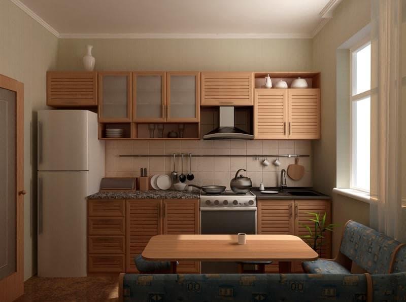 Кухонный уголок на кухне 9 кв. м 2