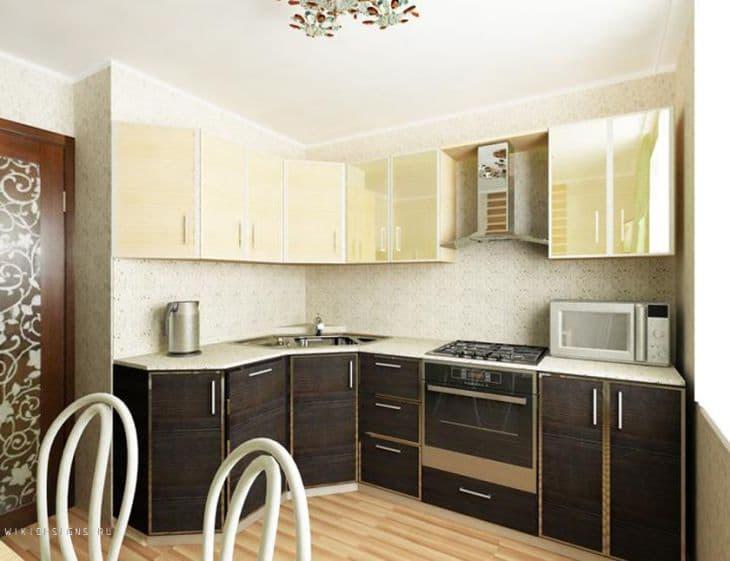 Планировка кухни 9 кв.м 1