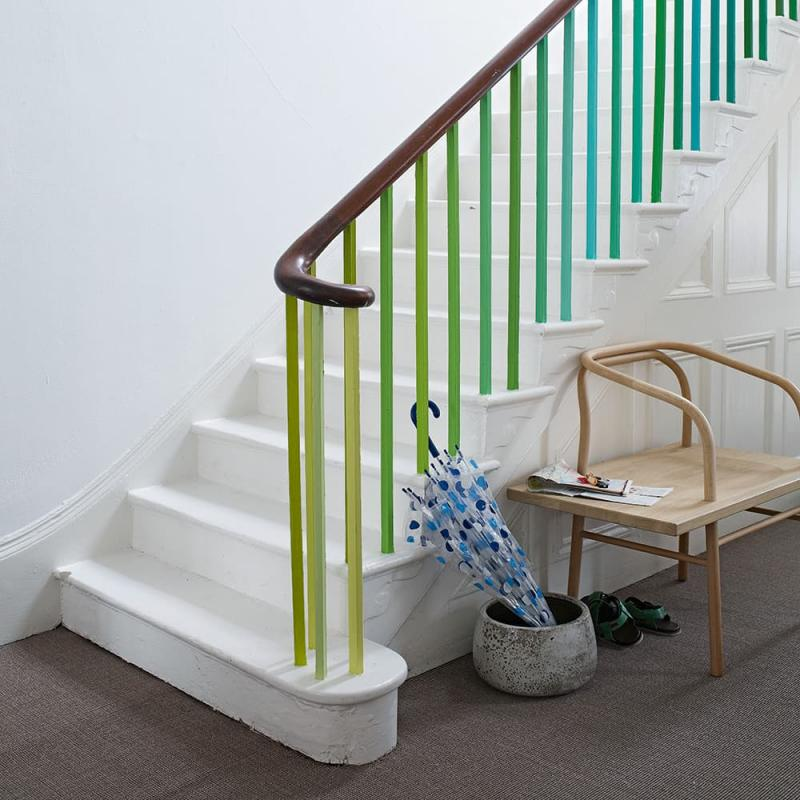Балясины на лестницах на второй этаж 3