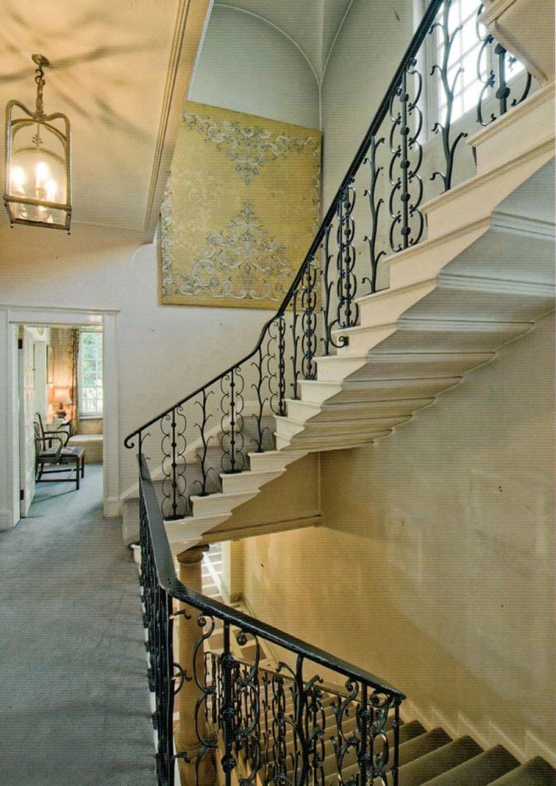 Комбинированные лестницы на второй этаж 2
