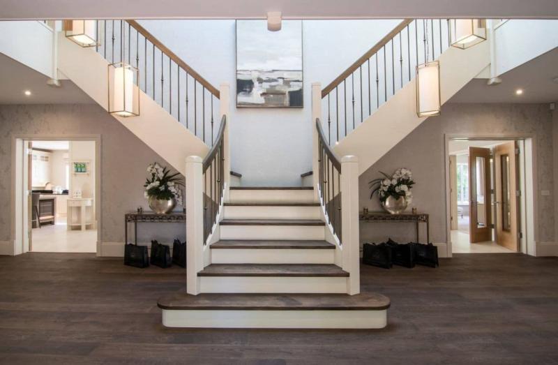 Маршевая лестница на второй этаж 1