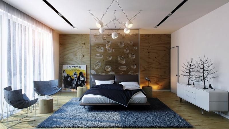 Аксессуары для спальни в современном стиле 1