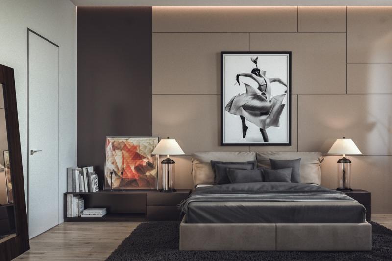 Аксессуары для спальни в современном стиле 2