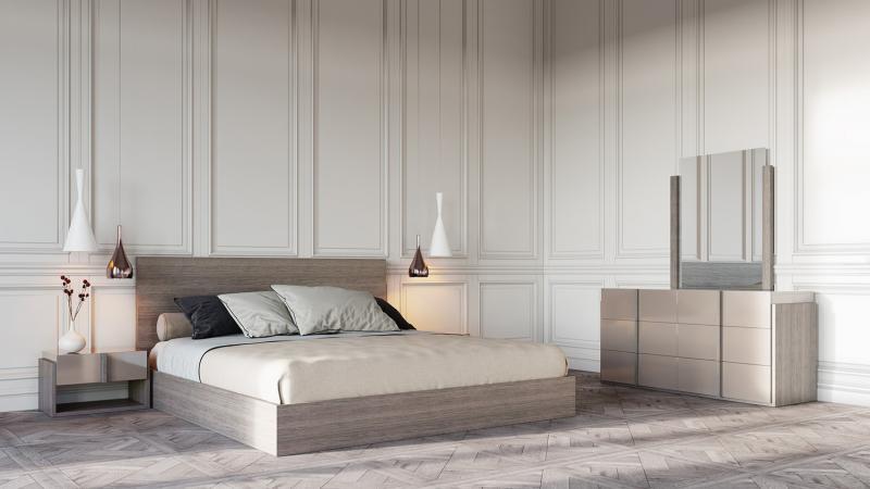 Цвет спальни в современном стиле (бежевый) 1