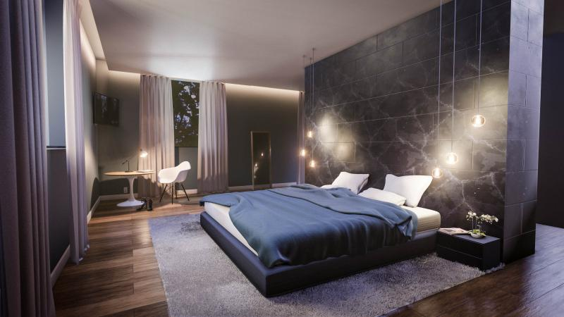 Изголовье для спальни в современном стиле 2