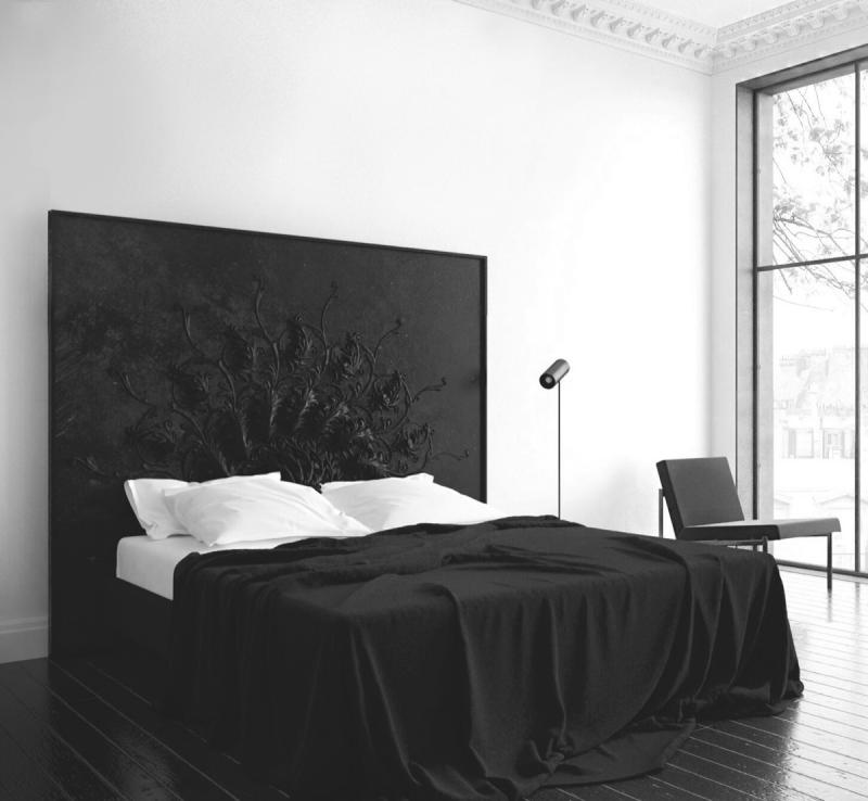 Изголовье для спальни в современном стиле 3