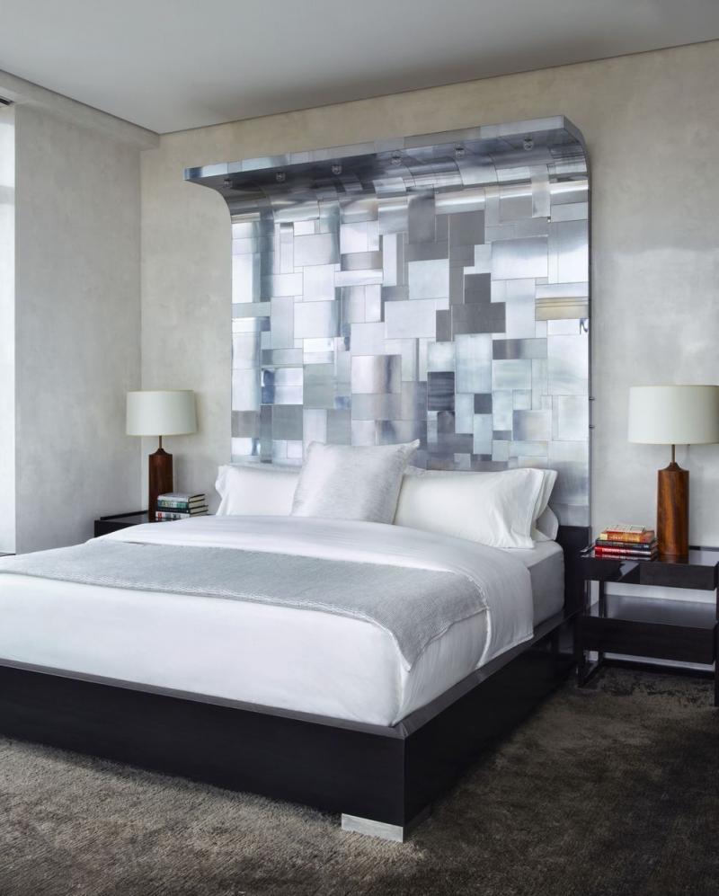 Изголовье для спальни в современном стиле 5