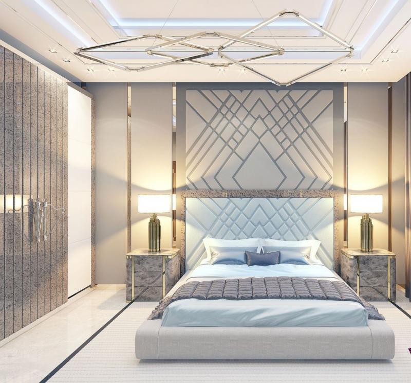 Изголовье для спальни в современном стиле 6