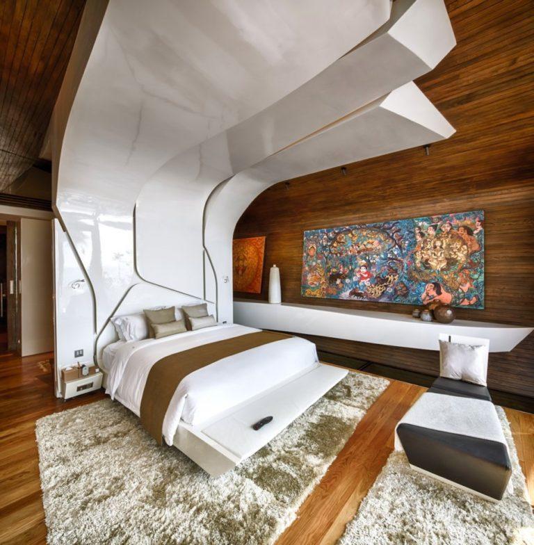 Изголовье для спальни в современном стиле 7