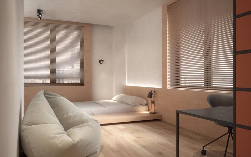 Кресло в спальне в современном стиле 1