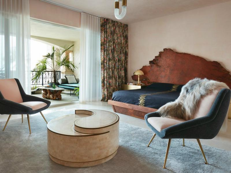 Кресло в спальне в современном стиле 6