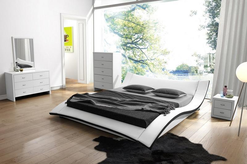 Кровать для спальни в современном стиле 4