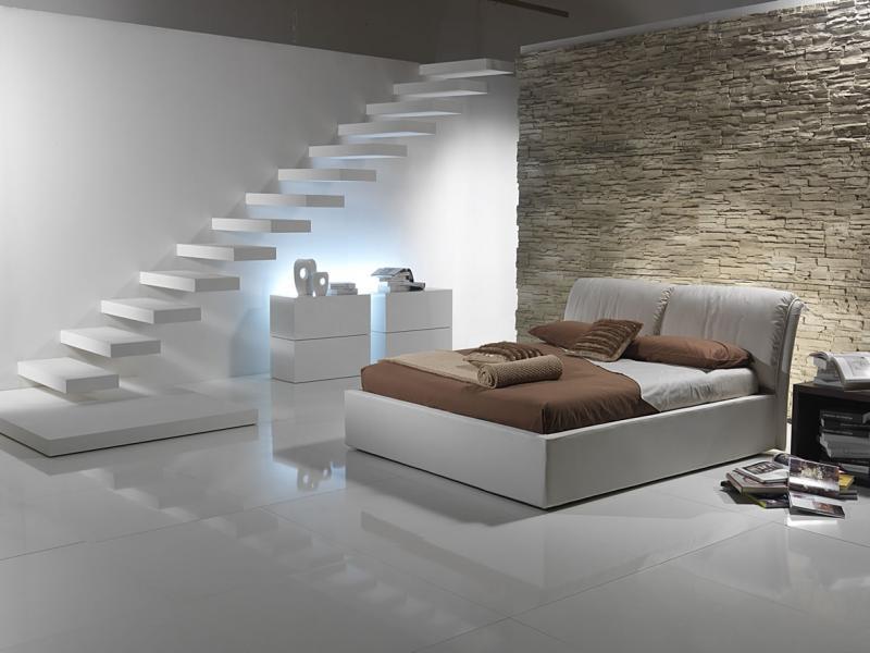 Кровать для спальни в современном стиле 5