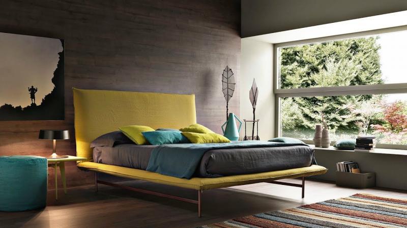 Кровать для спальни в современном стиле 6