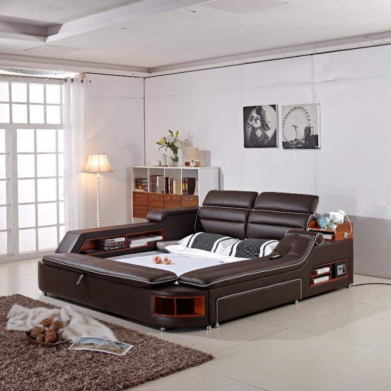 Кровать для спальни в современном стиле 7