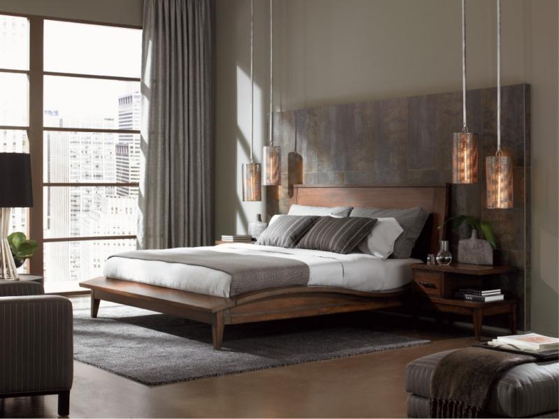 Освещение в спальне в совремнном стиле 3