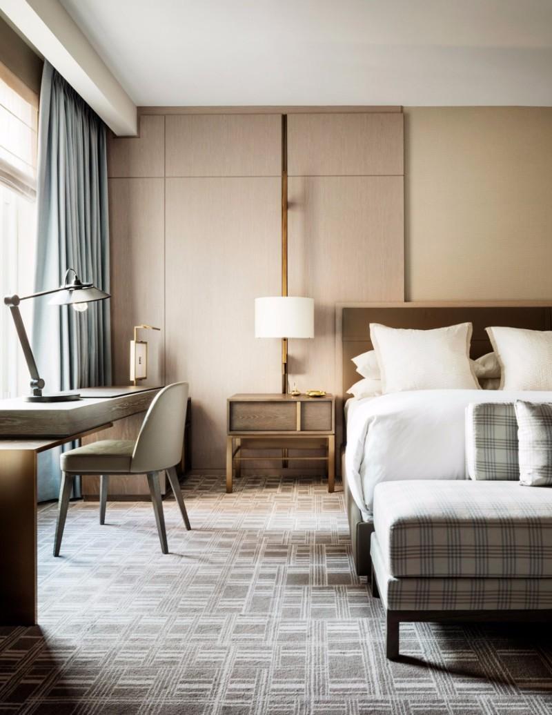 Письменный стил в спальне в современном стиле 5