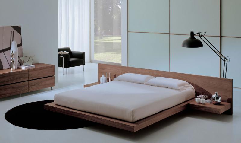 Пол в спальне в современом стиле 4