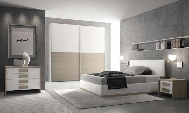 Шкаф в спальне в современном стиле 6