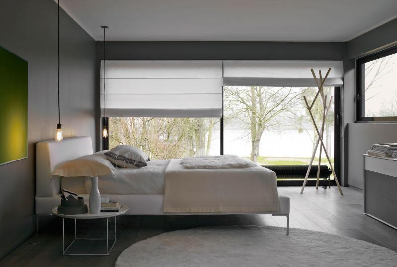 Шторы для спальни в современном стиле 2