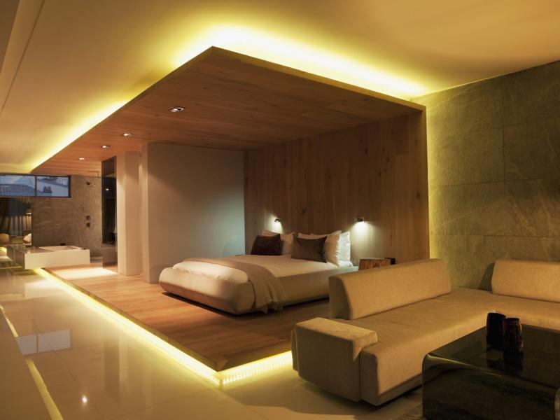 Спальня-гостиная в современном стиле 3