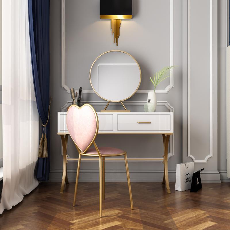 Туалетный столк в спальне в современном стиле 3