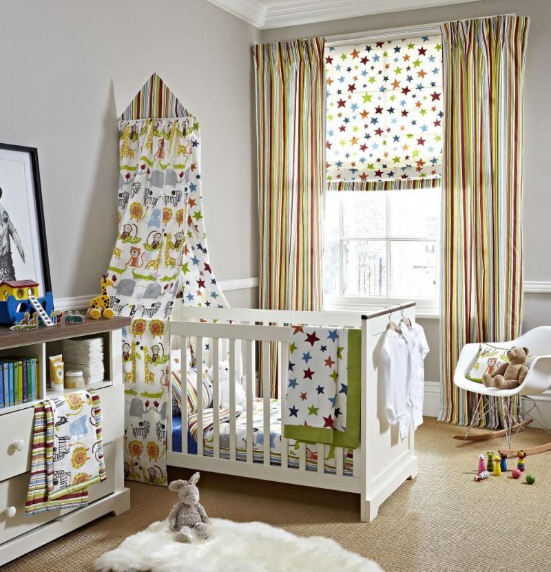 Римские шторы для детской 5