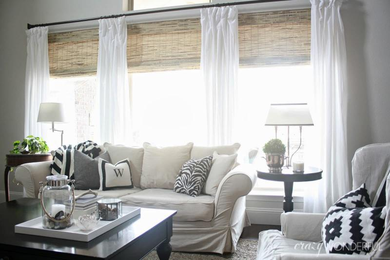 Римские шторы для гостиной 2